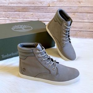 Timberland Grey Dausette Sneaker Boots